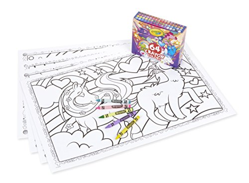 Crayola UniCreatures Giant Unicorn Coloring Pages with